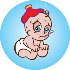 Sick baby